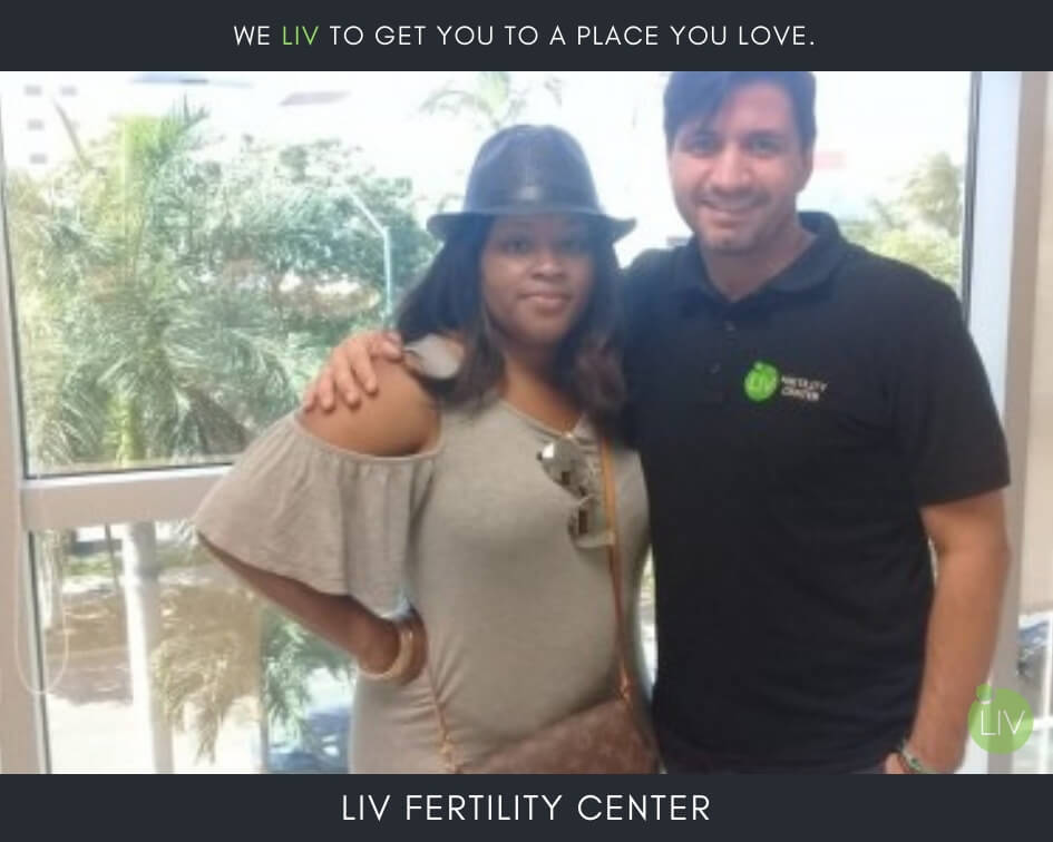 IVF in Mexico - LIV Fertility Center Patient with Patient Coordinator