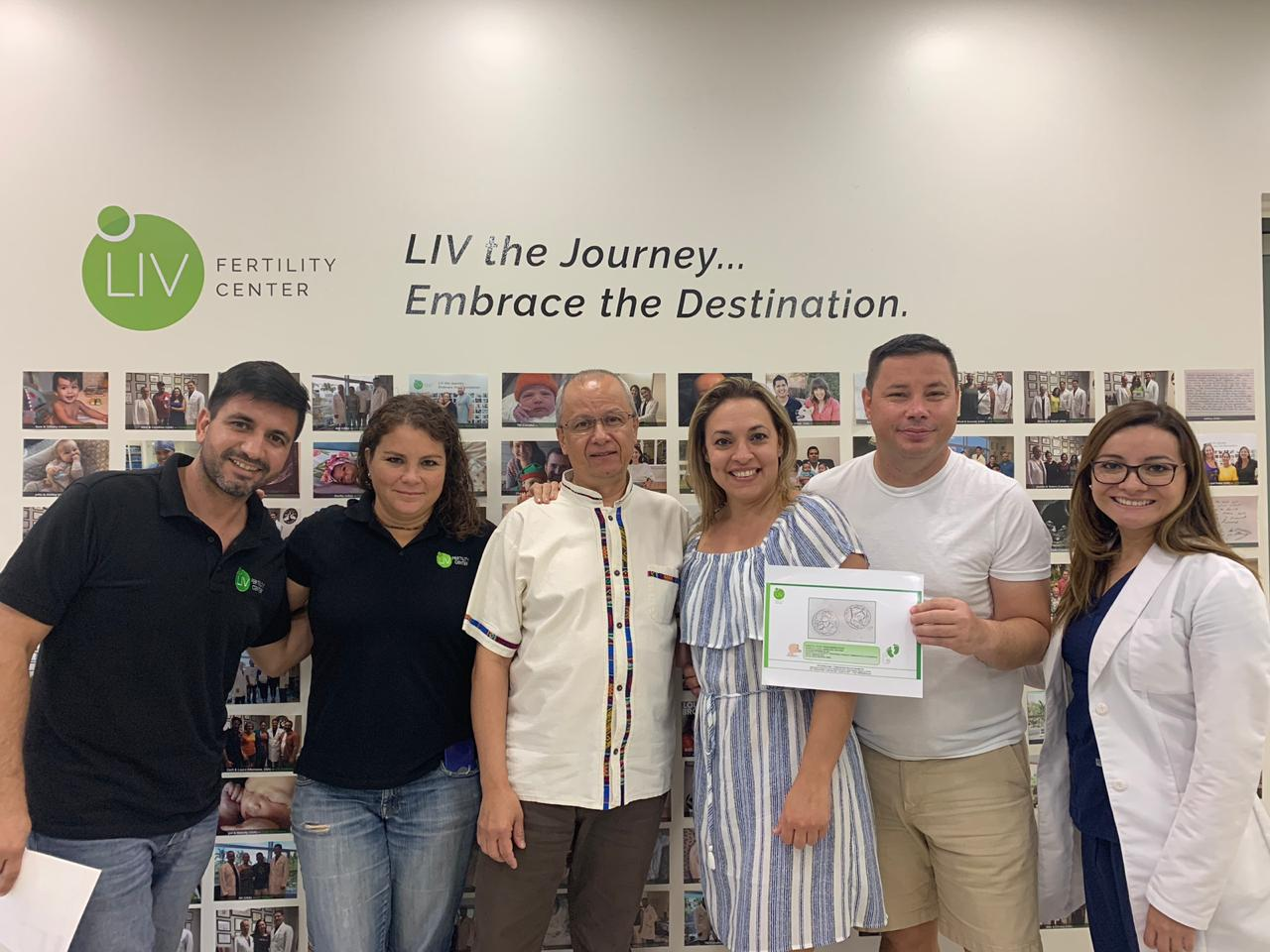 Lazaro and Yainais LIV Patients 2019