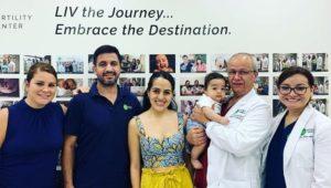 EMOJ with baby boy delivered by Dr. Velez