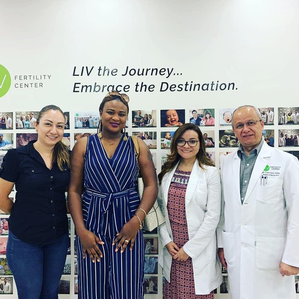 Juliet LIV Patient with LIV team